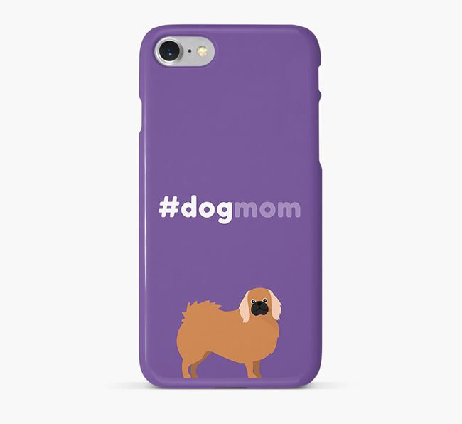 'Dog Mom' Pekingese Phone Case