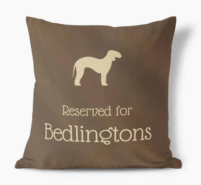 Reserved For Bedlingtons Faux Suede Cushion