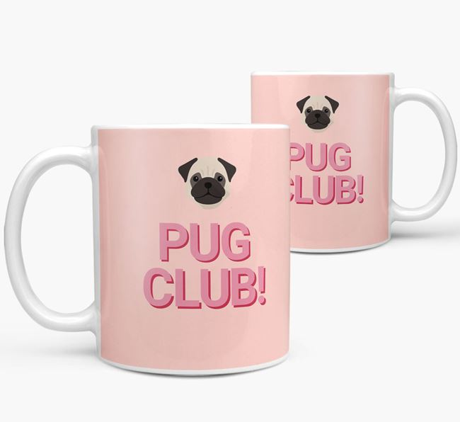 'Dog Club!' Mug with Dog Yappicon