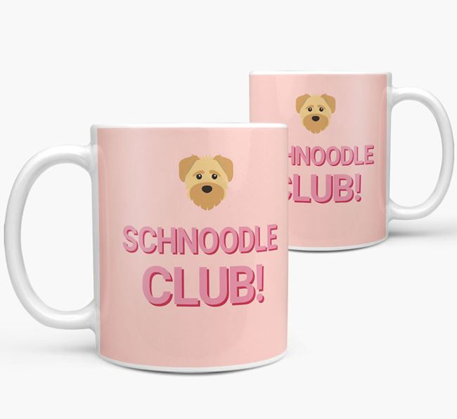 'Schnoodle Club!' Mug with Schnoodle Yappicon