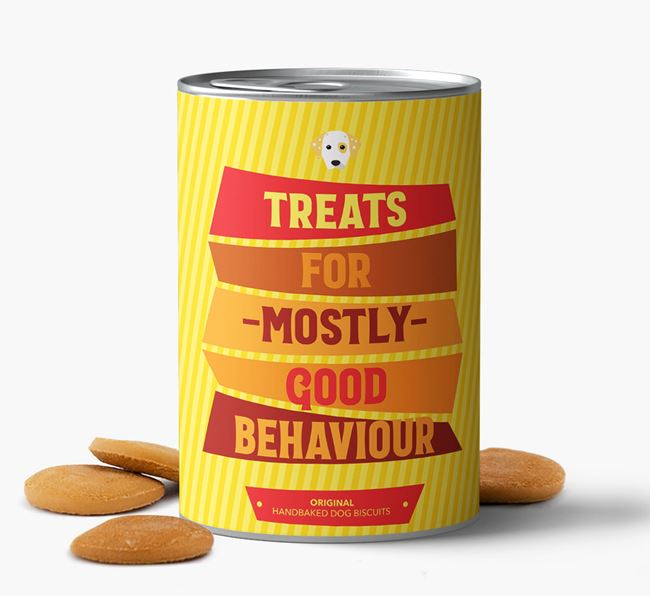 Baked Dog Biscuits for 'Mostly Good Behaviour'