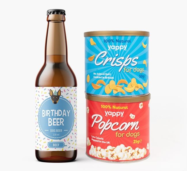 Birthday Beer for your English Toy Terrier