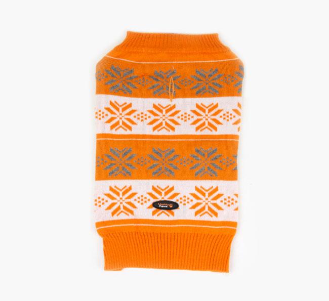 Orange Nordic Jumper