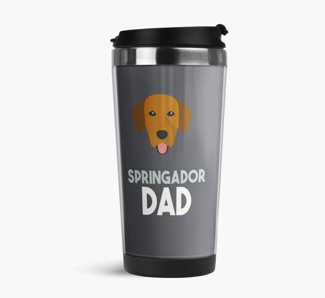 'Springador Dad' Reusable Mug with Springador Icon
