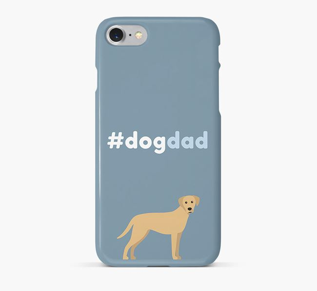 '#DogDad' Phone Case for Blue Lacy Dad