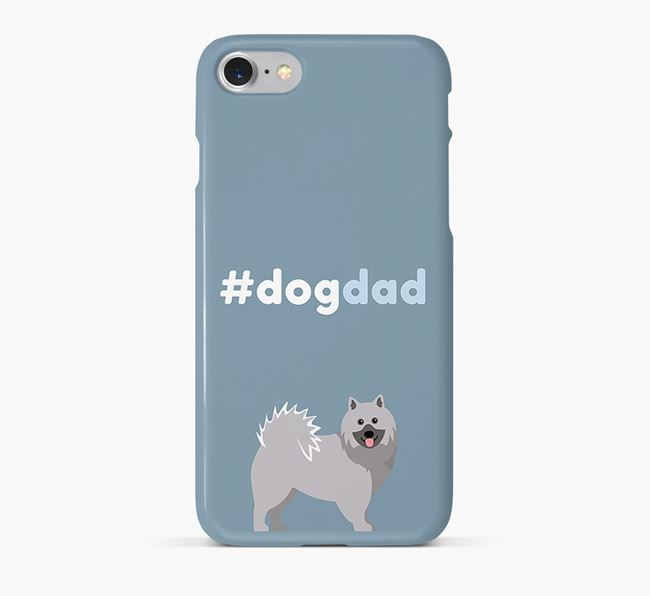 '#DogDad' Phone Case for Keeshond Dad