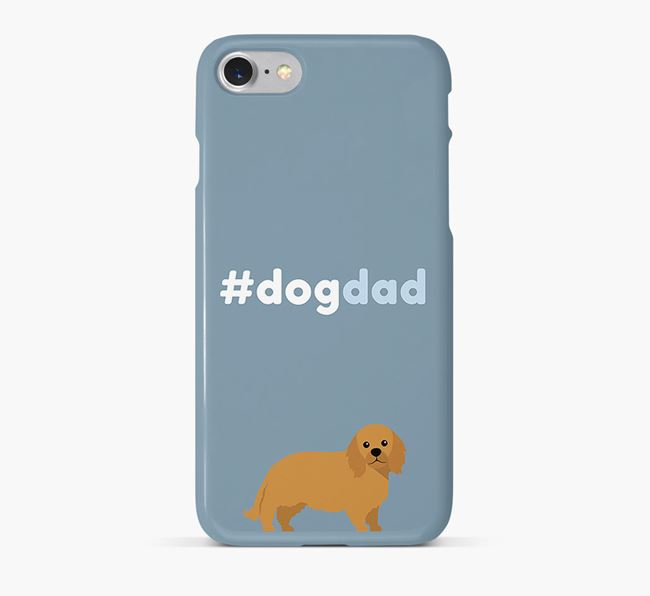 '#DogDad' Phone Case for King Charles Spaniel Dad