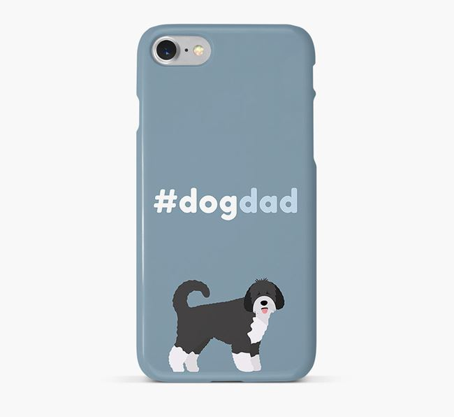 '#DogDad' Phone Case for Spanish Water Dog Dad