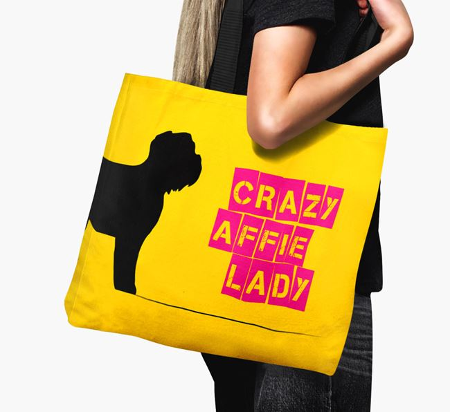 Crazy Affie Lady Canvas Bag