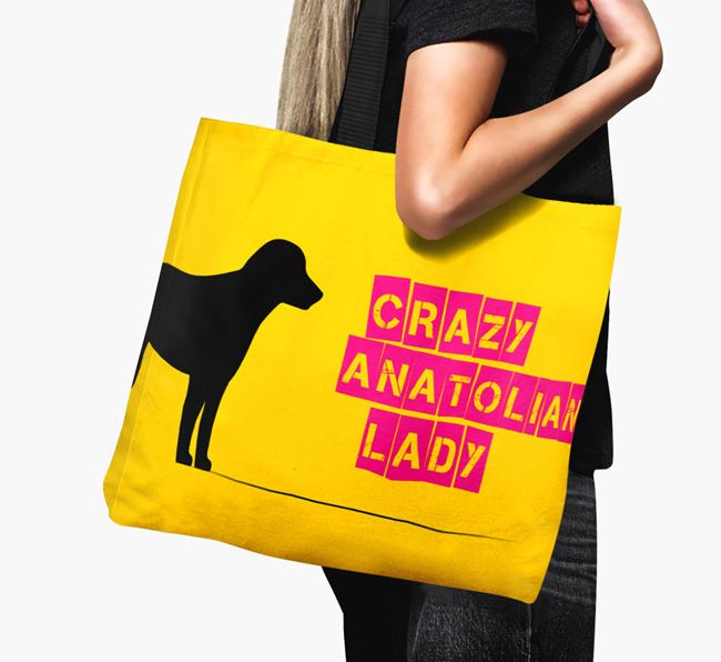 Crazy Anatolian Lady Canvas Bag