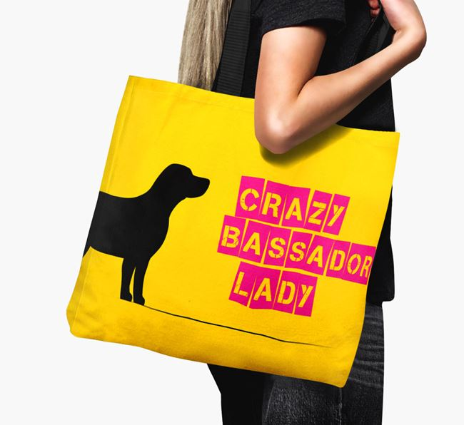 Crazy Bassador Lady Canvas Bag