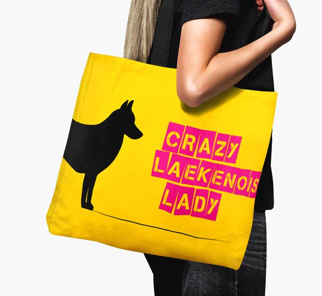 Crazy Laekenois Lady Canvas Bag
