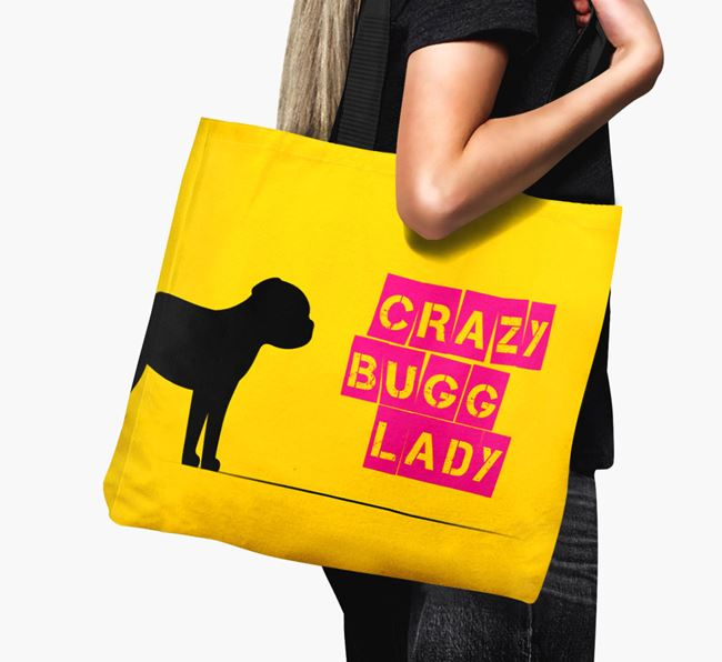 Crazy Bugg Lady Canvas Bag