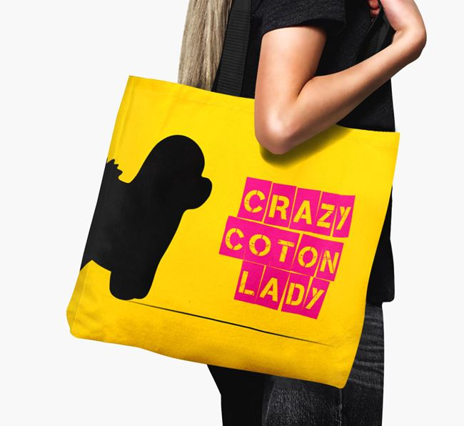 Crazy Coton Lady Canvas Bag