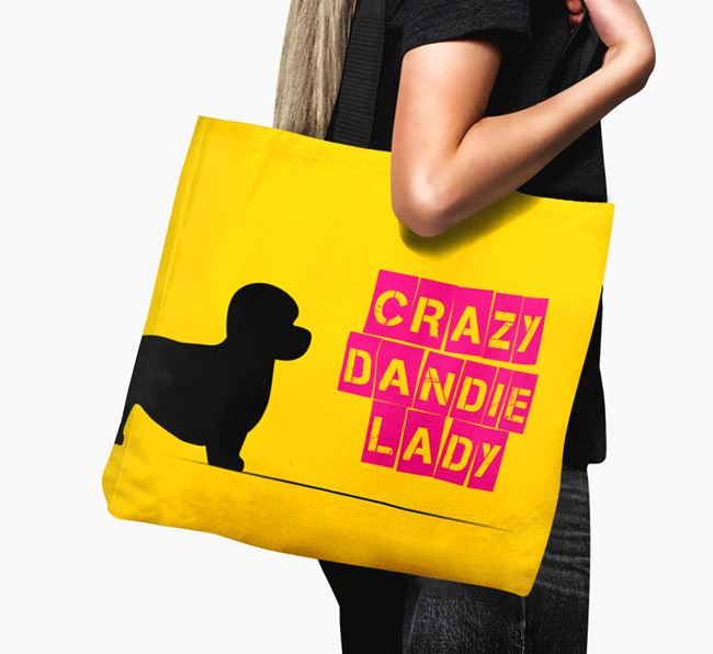 Crazy Dandie Lady Canvas Bag