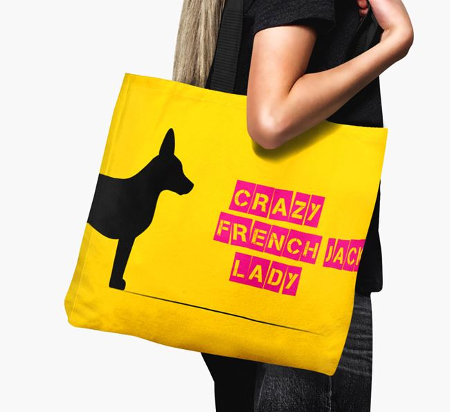 Crazy French Jack Lady Canvas Bag