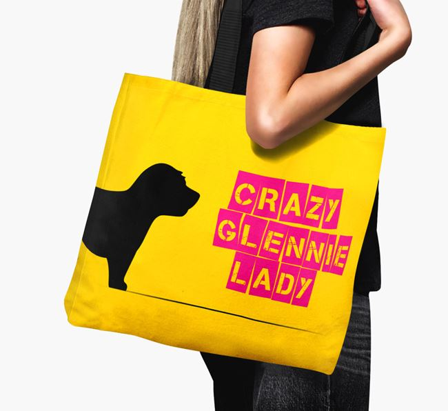 Crazy Glennie Lady Canvas Bag