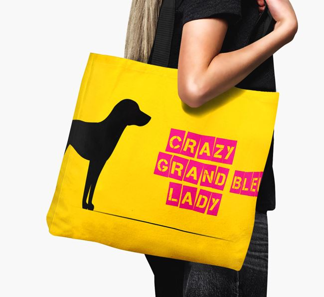 Crazy Grand Bleu Lady Canvas Bag