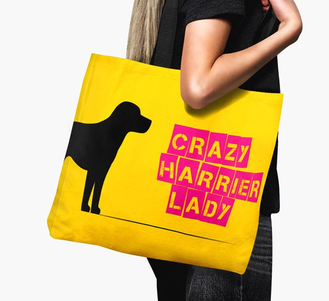 Crazy Harrier Lady Canvas Bag