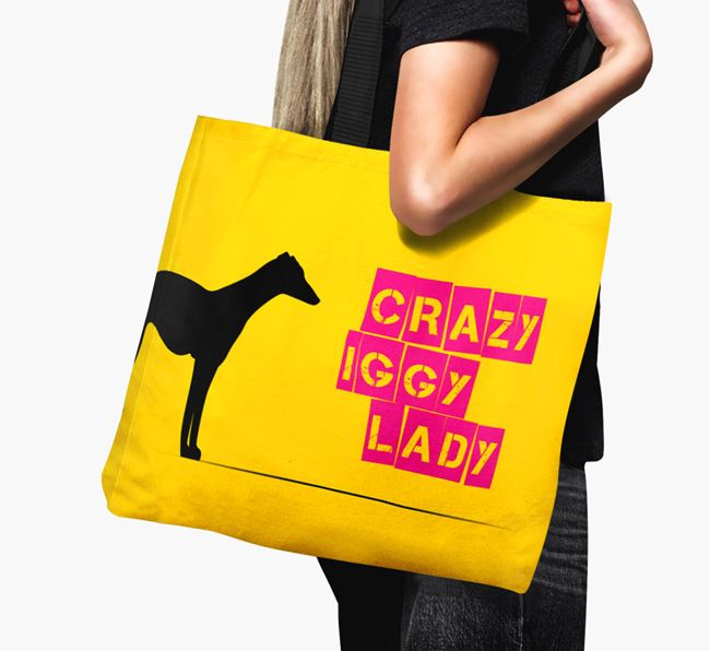 Crazy Iggy Lady Canvas Bag