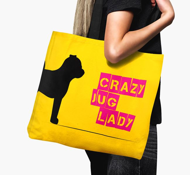 Crazy Jug Lady Canvas Bag