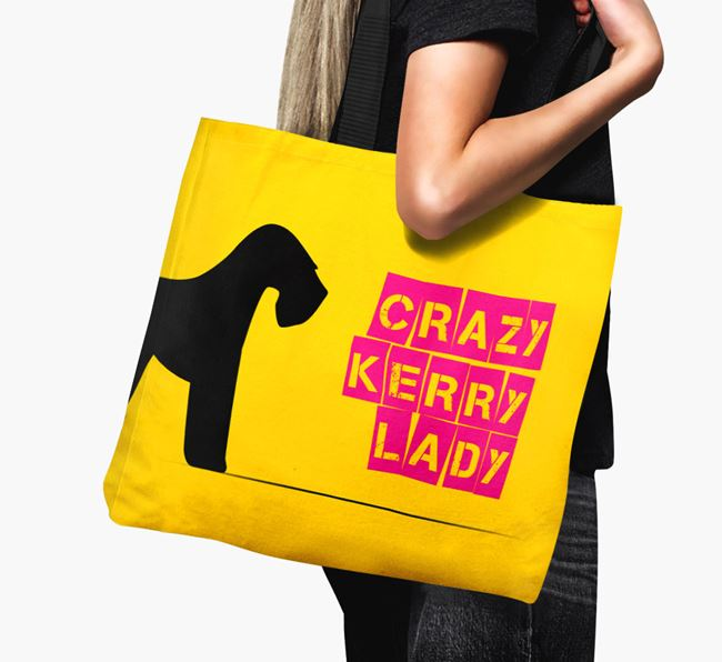 Crazy Kerry Lady Canvas Bag