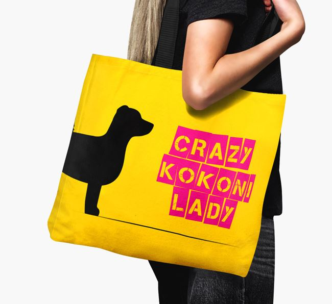 Crazy Kokoni Lady Canvas Bag