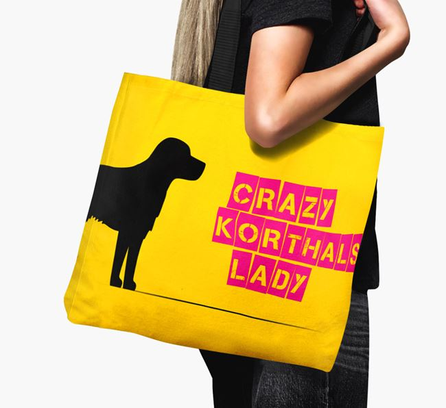 Crazy Korthals Lady Canvas Bag