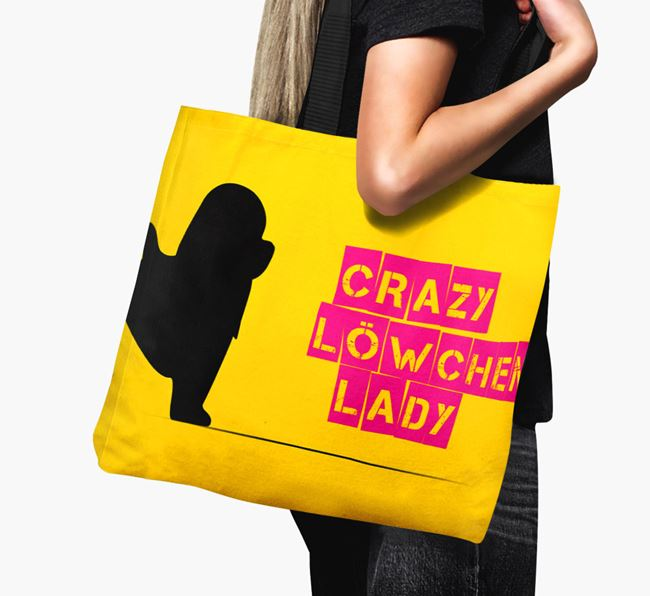 Crazy Löwchen Lady Canvas Bag