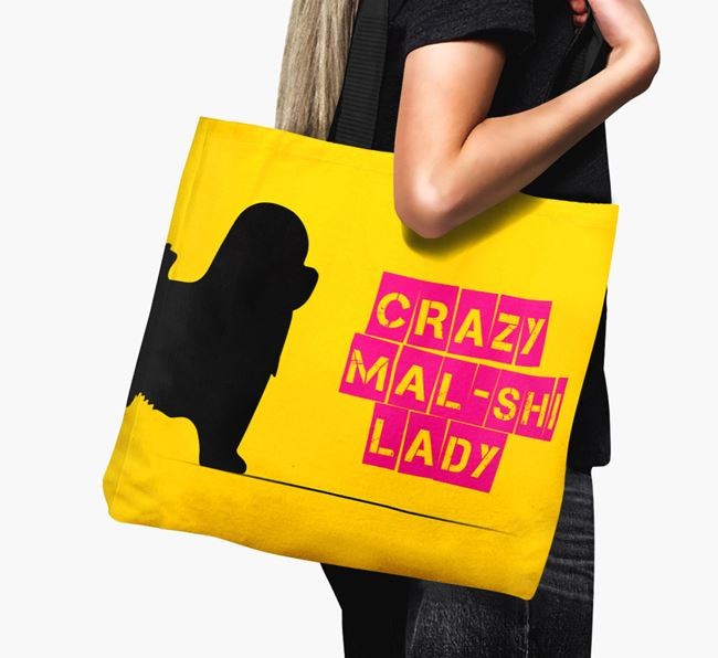 Crazy Mal-Shi Lady Canvas Bag