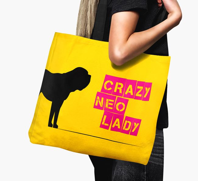 Crazy Neo Lady Canvas Bag