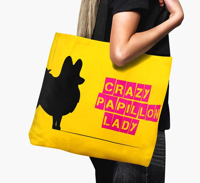 Crazy Papillon Lady Canvas Bag