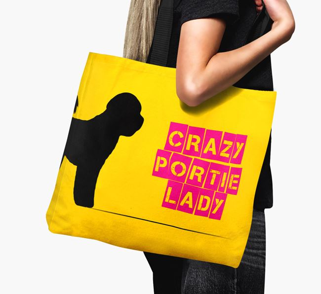 Crazy Portie Lady Canvas Bag