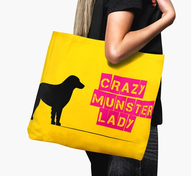 Crazy Munster Lady Canvas Bag