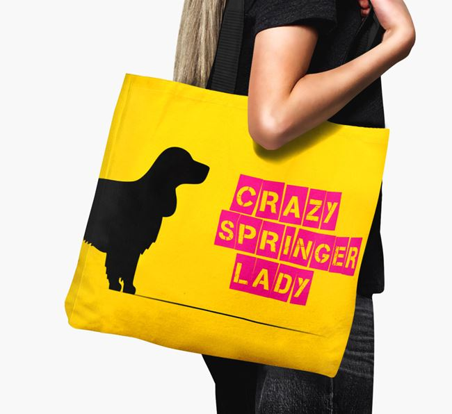 Crazy Springer Lady Canvas Bag