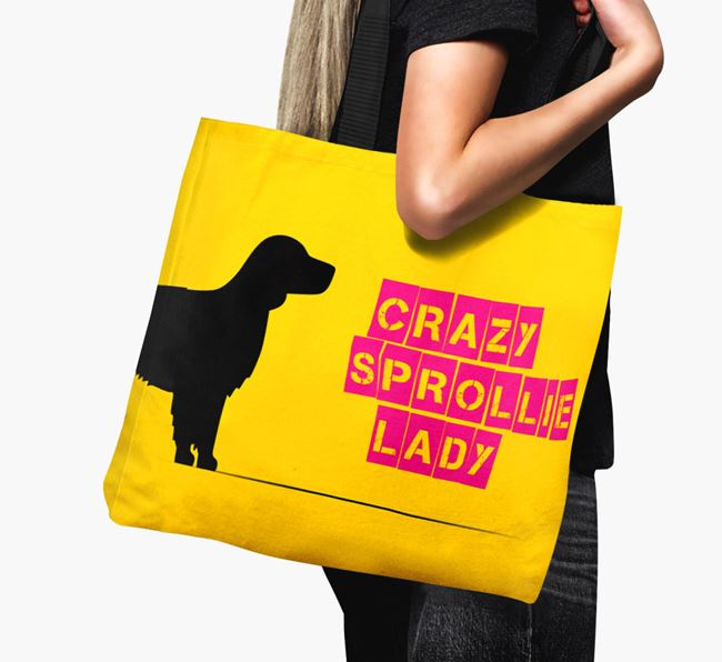Crazy Sprollie Lady Canvas Bag