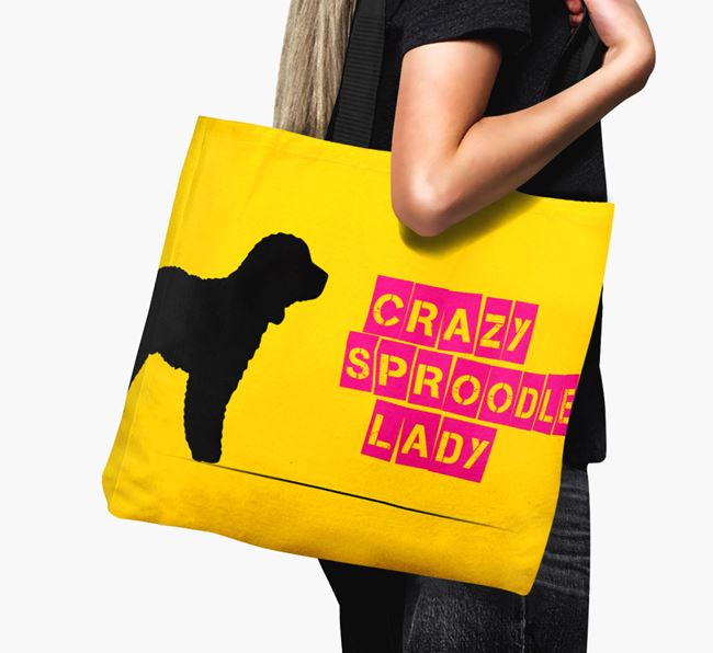Crazy Sproodle Lady Canvas Bag
