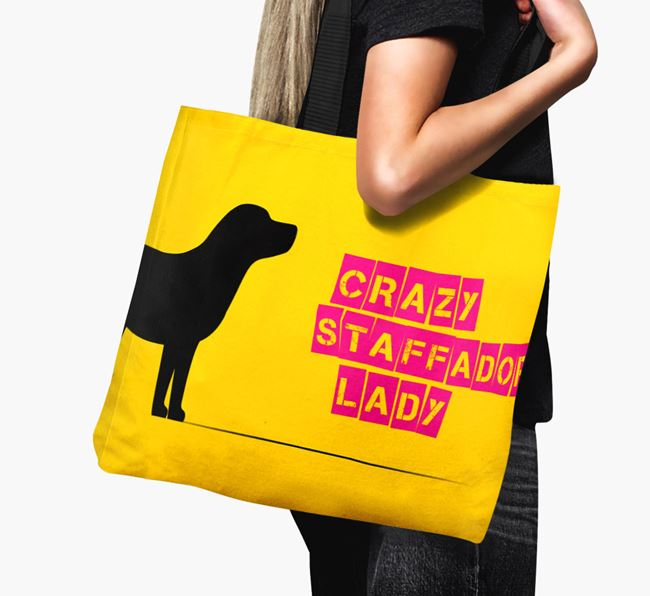 Crazy Staffador Lady Canvas Bag