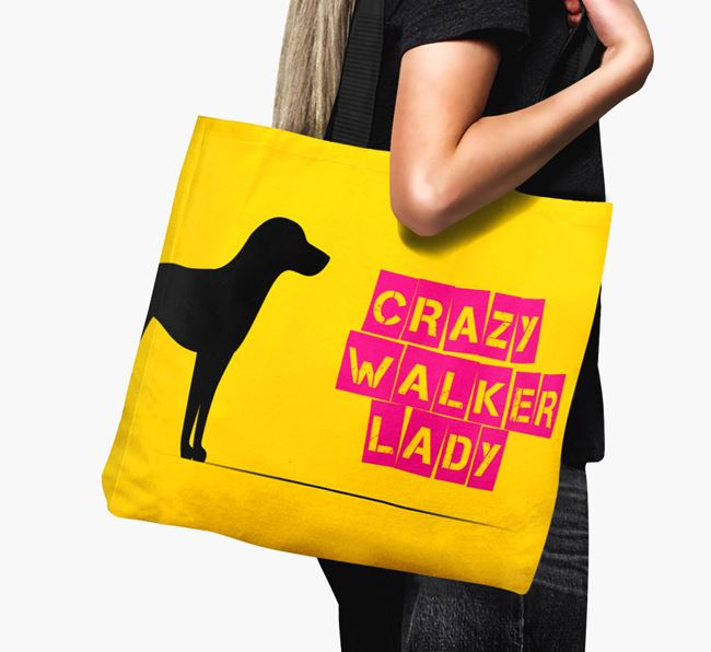 Crazy Walker Lady Canvas Bag