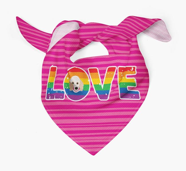 'Love' Bandana with Doxiepoo Icon