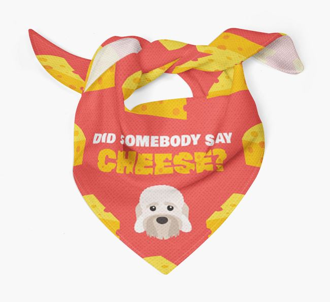 Cheese Bandana with Dandie Dinmont Terrier Icon