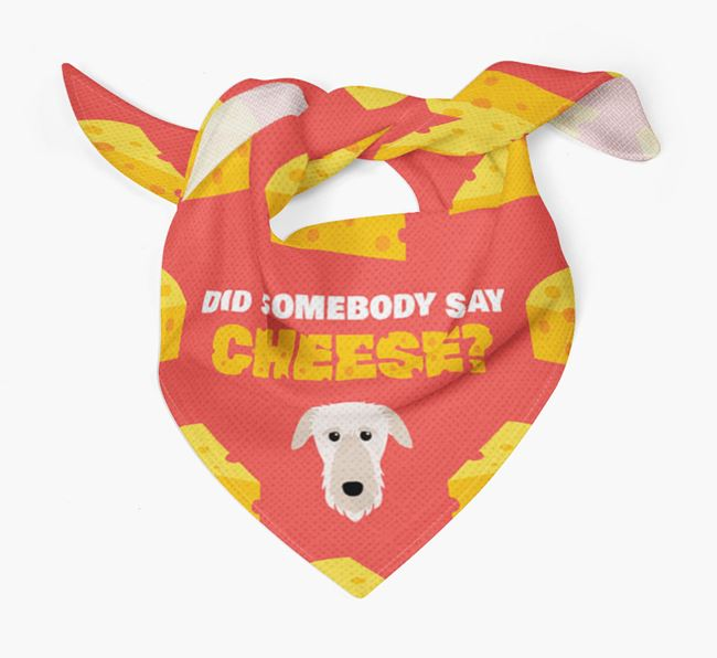 Cheese Bandana with Deerhound Icon