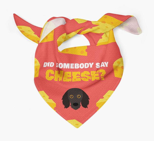 Cheese Bandana with Doxiepoo Icon