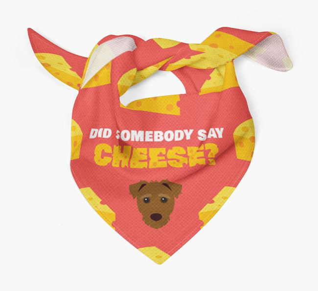 Cheese Bandana with Jack-A-Poo Icon