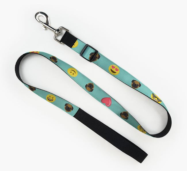 Fabric Lead with Emojis and Pug Icon