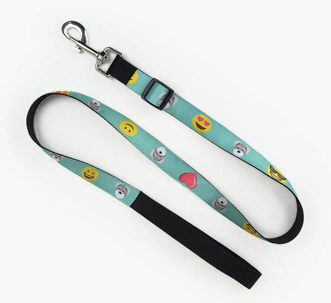 Fabric Lead with Emojis and Schnoodle Icon