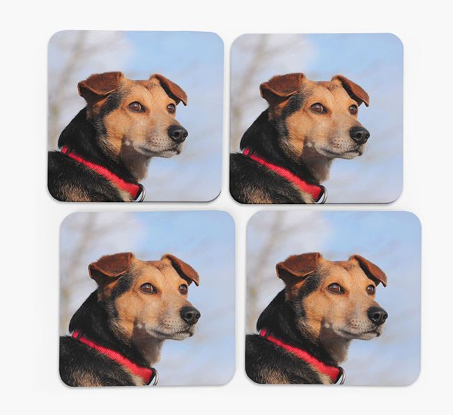 Photo Upload Set of 4 Coasters