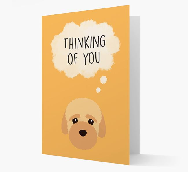 'Thinking of You' Card with Bich-poo Icon