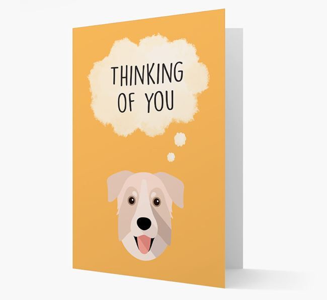 'Thinking of You' Card with Chinook Icon