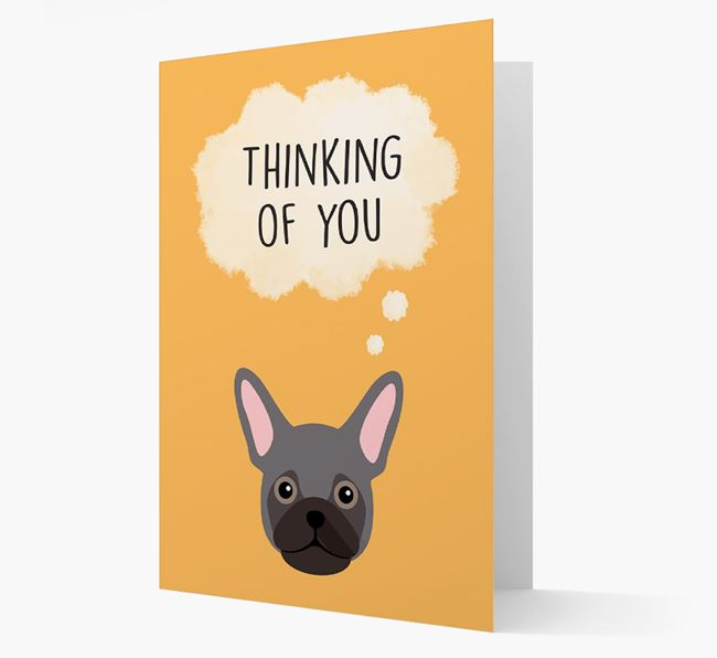 'Thinking of You' Card with Frug Icon